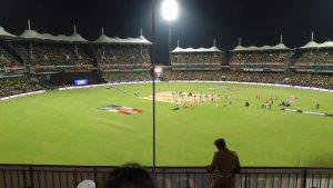 terrain pour le jeu de cricket